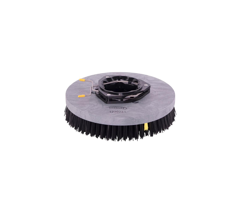1220231 <br>Дисковая чистящая щетка HD из полипропилена в сборе — 13 дюймов / 330 мм